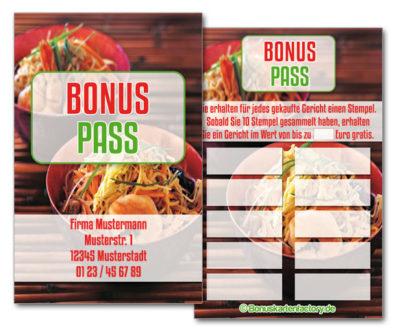 Asia-Bonuskarten