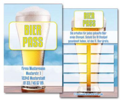 Bier-Bonuskarten