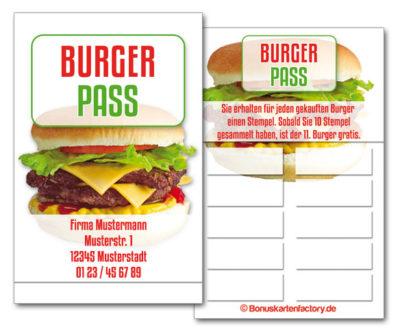 Burger-Bonuskarten