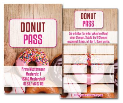 Donut-Bonuskarten