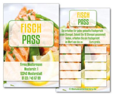 Fisch-Bonuskarten