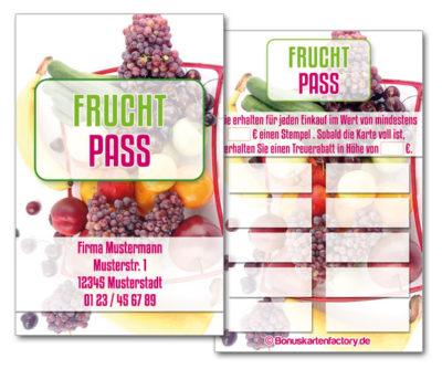 Frucht-Bonuskarten