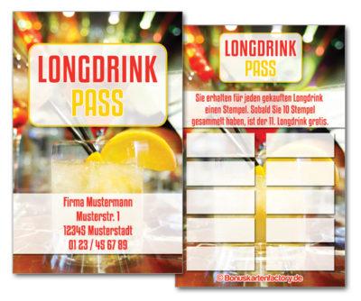 Longdrink-Bonuskarten
