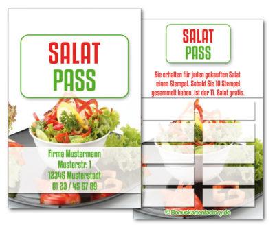Salat-Bonuskarten