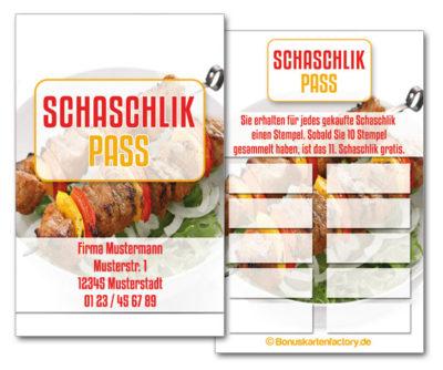 Schaschlik-Bonuskarten