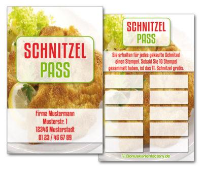 Schnitzel-Bonuskarten
