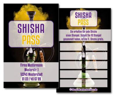 Shisha-Bonuskarten