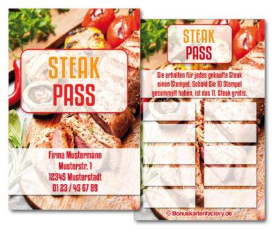 Steak-Bonuskarten
