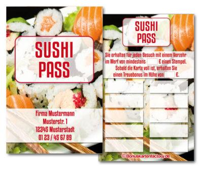 Sushi-Bonuskarten