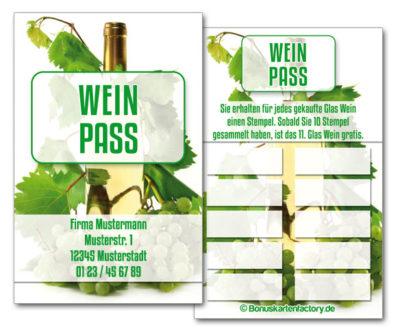 Wein-Bonuskarten